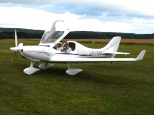 Dynamic ultralätt flygplan